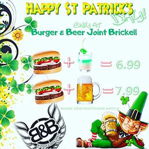 St. Patrick's Day - Burger and Beer Joint